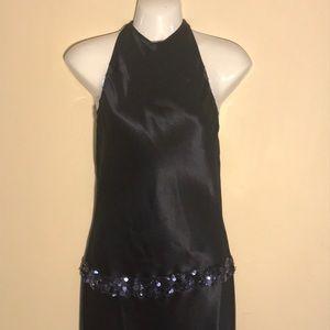 Vera Wang Halter Cocktail Dress